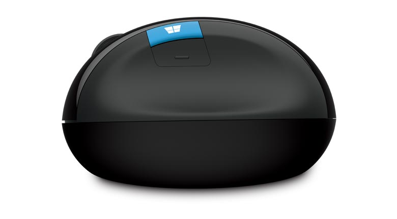 Mouse Sem Fio Sculpt Ergonômico Bluetrack L6V-00009 -Microsoft