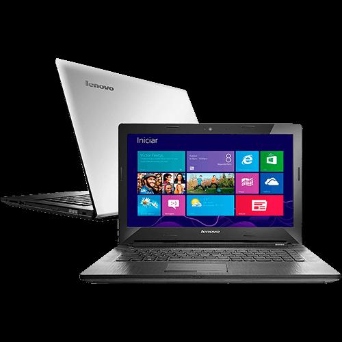 Notebook G40-70 80GA000HBR Intel Core i3 Memória 4GB HD 500GB Tela 14 Bluetooth Windows 8.1 Prata - Lenovo