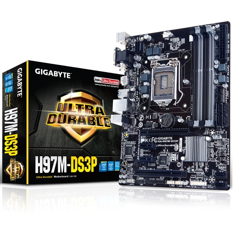 Placa Mãe LGA 1150 GA-H97M-DS3P - Gigabyte