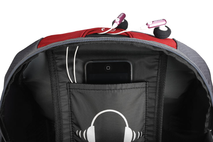 Mochila Notebook 15.6 Full Speed Backpack Azul c/ Capa de Chuva PON364BU - Sumdex