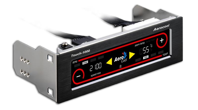 Controlador de Fan Touch 1000 EN55338 - Aerocool