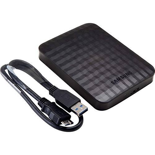 HD Externo 1TB USB 3.0 Portátil HX-M101TCB Preto - Samsung