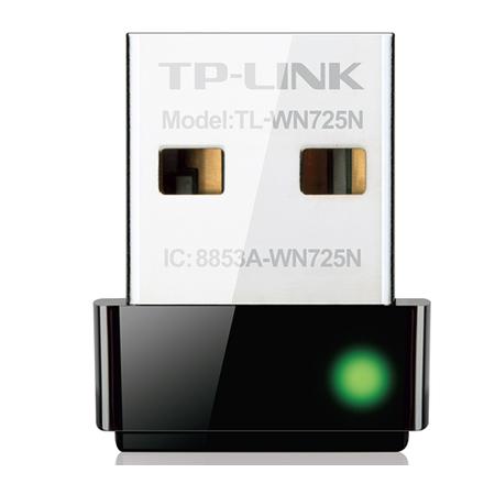 Adaptador Nano Wireless USB 150Mbps TL-WN725N - Tplink