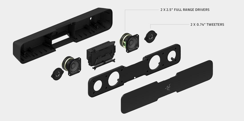 Caixa de Som Leviathan RZ05-01260100-R3U1 - Razer