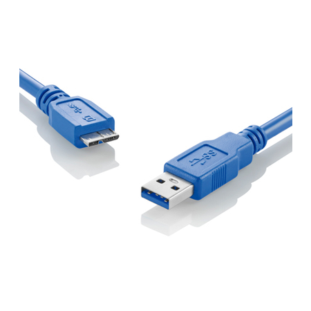 Cabo Superspeed 3.0 USB x Micro USB BM Azul WI275 - Multilaser