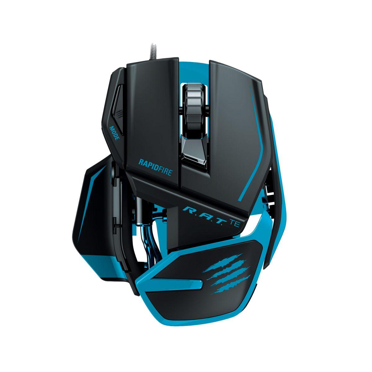 Mouse Gamer Laser Cyborg R.A.T. T.E 8200DPI (Ajustável/Superleve) MCB437040002 -  Mad Catz