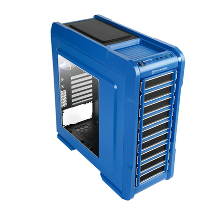 Gabinete ATX Chaser A31 Thunder Edition Blue VP300A5W2N - Thermaltake