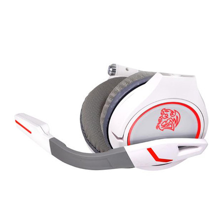Headset Gaming Cronos Combat White HT-CRO008ECWH e-Sports - Thermaltake
