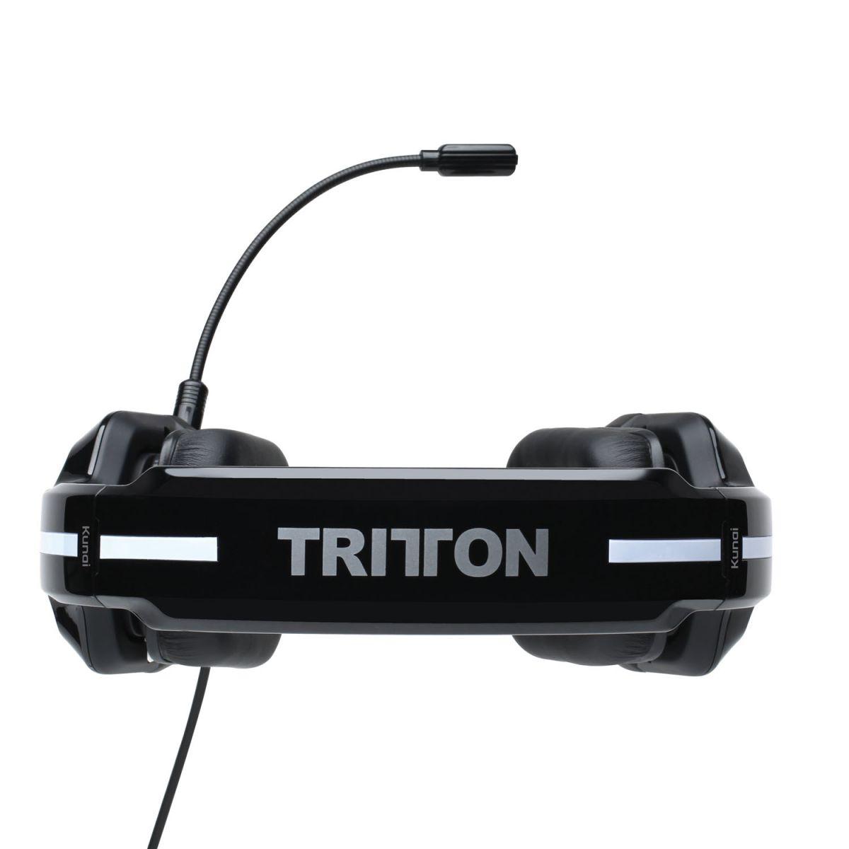 Fone de Ouvido c/ Microfone Tritton Kunai Universal Stereo Black para Xbox 360, PS4, Wii U, PC/Mac & Mobile TRI903590002