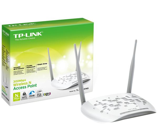 Access Point 300 Mbps Wireless N com 2 Antenas Wi-Fi TL-WA801ND - Tplink