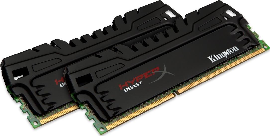 Memória Hyper X Beast 8GB 2x4GB 1866MHz DDR3 CL9 KHX18C9T3K2/8X - Kingston