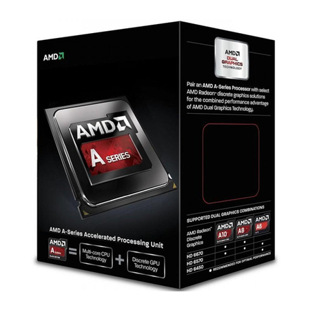 Processador A-Series A10 6790K Black Edition 4.0 GHz Max Turbo 4MB FM2 AD679KWOHLBOX - AMD