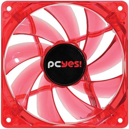 Microventilador 120mm Hurricane LED Vermelho 18544 - PCyes