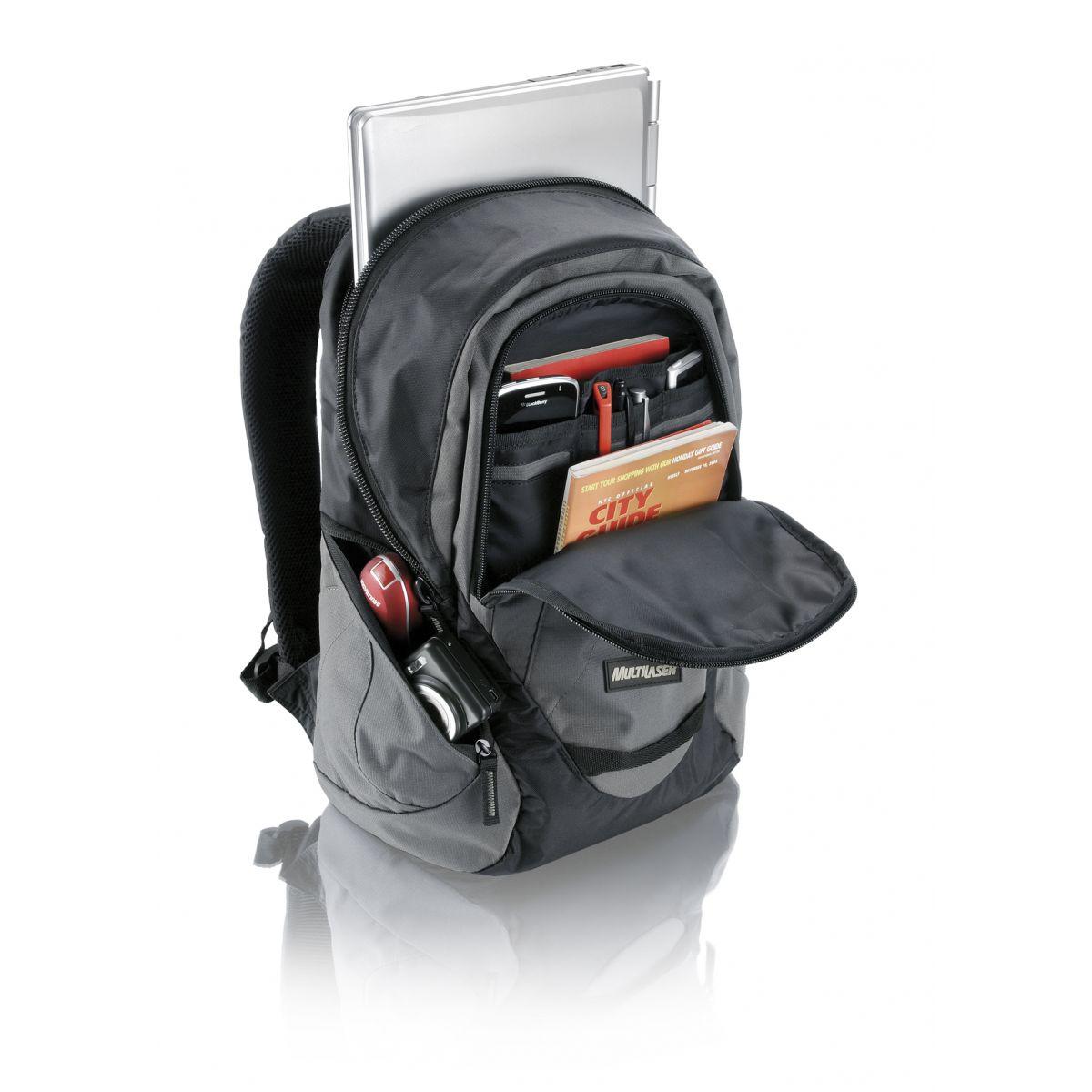 Mochila para Notebook 15 Everyday Cinza BO086 - Multilaser