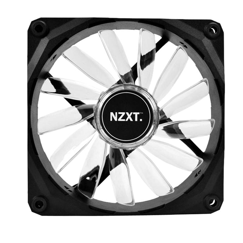 Cooler para Gabinete 120mm com LED Azul FAN-NT-FZ-120-U - NZXT
