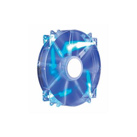Cooler para Gabinete Megaflow LED Azul 200mm R4-LUS-07AB-GP - Coolermaster