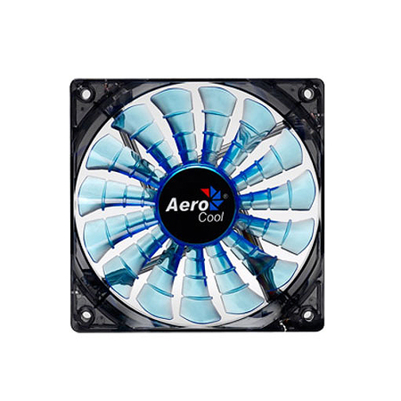 Cooler Shark Fan Blue Edition 140mm LED Azul EN55468 - Aerocool