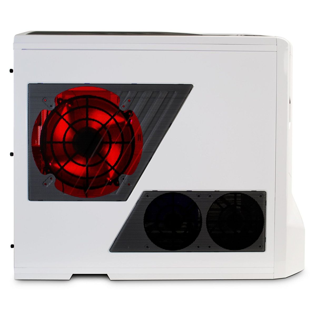 Cooler para Gabinete 200mm LED Vermelho (Switch ON/OFF) FS-200RB-RLED - NZXT