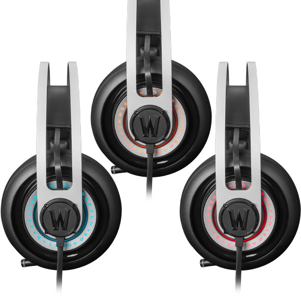 Fone de Ouvido Siberia Elite World of Warcraft 51154 - SteelSeries