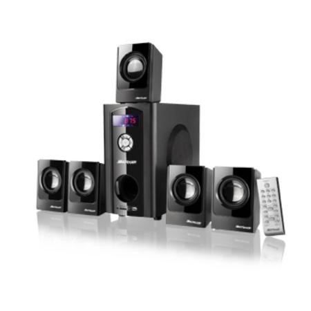 Home Theater 5.1 80Wrms Bivolt com Usb SD e Radio FM SP110 - Multilaser