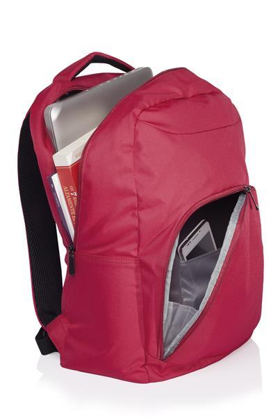 Mochila para Notebook 15 College Vermelha BO320 - Multilaser