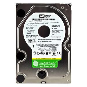 Hard Disk 500GB  Sata 2 7200RPM WD5000AVVS Green - Western Digital