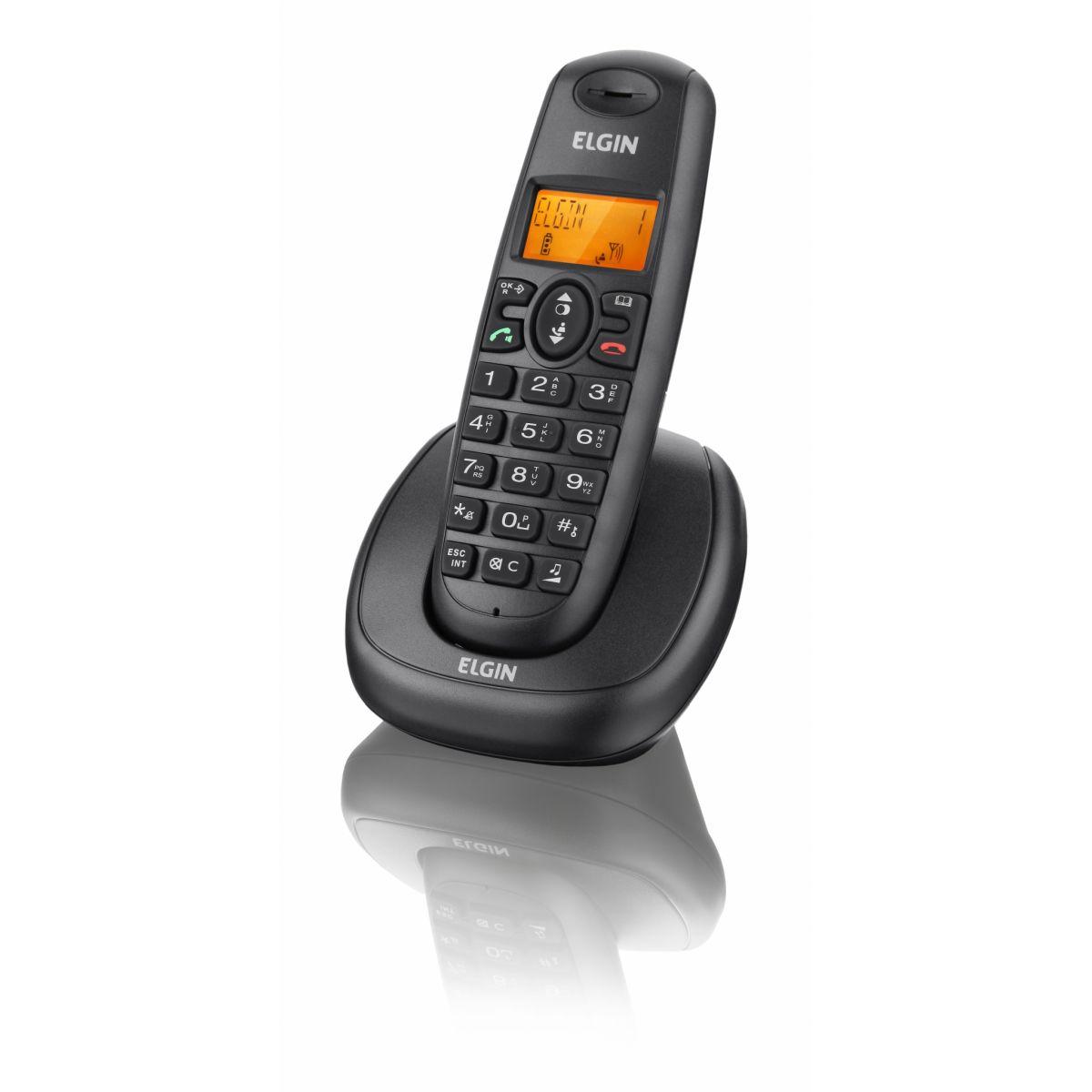 Telefone Sem Fio Com Identificador e Viva Voz TSF-7001 - Elgin