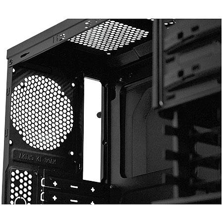 Gabinete ATX Gamer Rhino S/Fonte Com 2 Coolers de 120mm 18633 - PCYES
