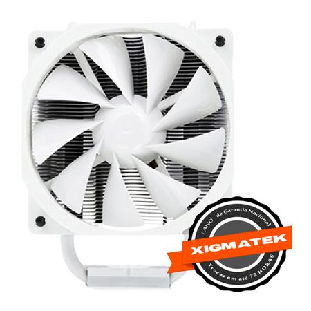 Cooler para CPU Dark Knight Night Hawk Froustbourne Edition SD1283 CAC-SXHH3-U21 Branco - Xigmatek