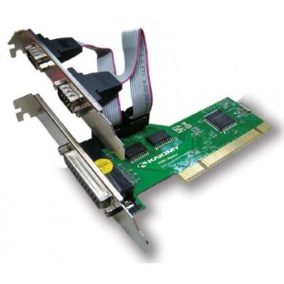 Placa PCI C/2 Seriais e 1 Paralela PC4 - Lotus