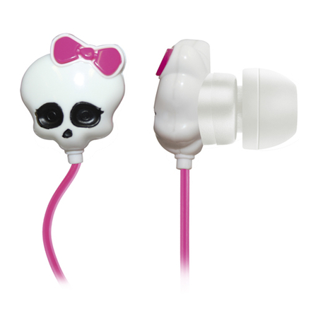 Fone de Ouvido Monster High Skull PH106 - Multilaser