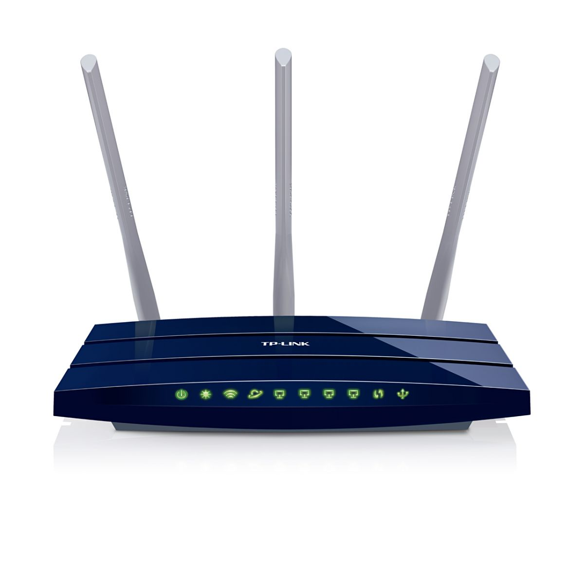 Roteador Wireless Gigalan TL-WR1043ND c/ 3 Antenas - Tplink