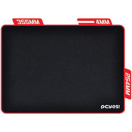Mouse Pad Gamer Speed Persa 355X254X4mm 19978 - Pcyes