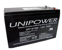 Bateria 12V 7.0Ah UP1270 F187 - Unipower