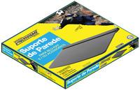 Suporte Para Blu-Ray/ DVD/ Acessórios 30x25CM Vidro 234281 - Multivisão