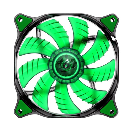Cooler Fan Dual-X 120x120x25mm Green LED CF-D12HB-G - Cougar