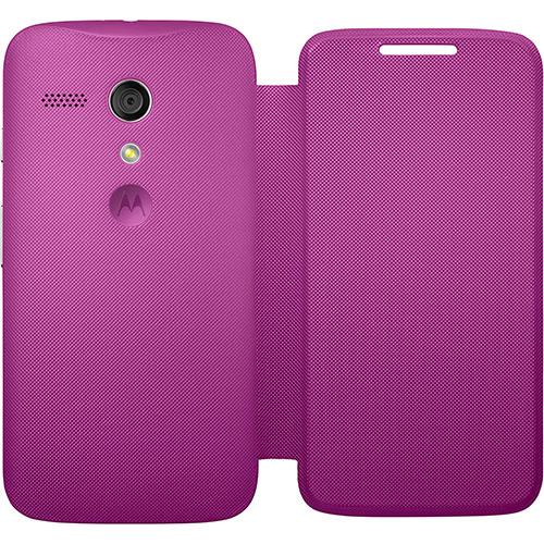 Capa Flip Shell para Moto G Original Cor Violet 11225N - Motorola
