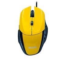Mouse Óptico Gamer Precision MG-08 USB Amarelo 1600DPI - Evus