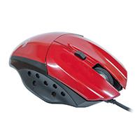 Mouse Óptico Gamer Precision MG-07 USB Vermelho 1600DPI - Evus