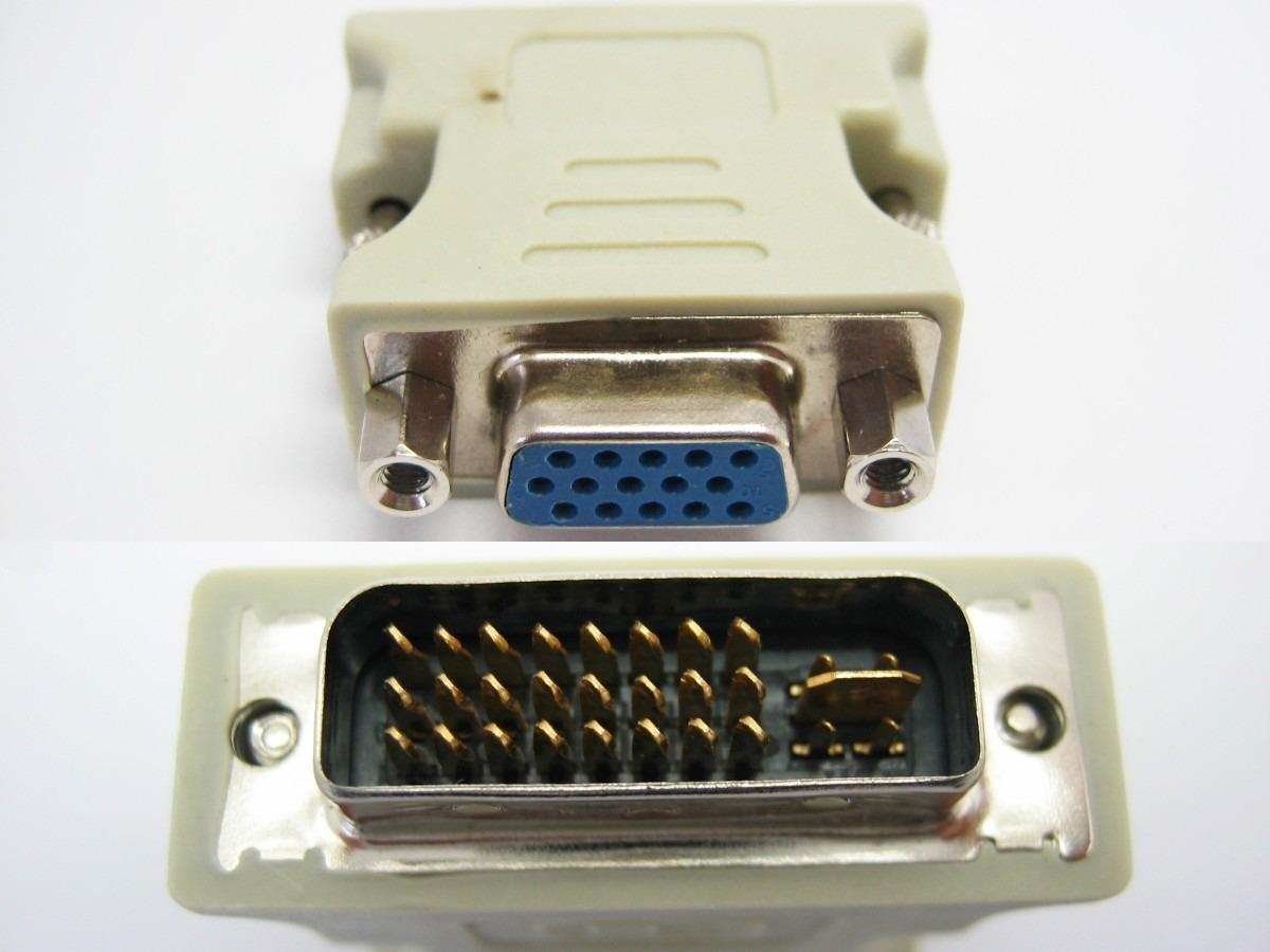 Adaptador DVI-I (Macho) para VGA (Femea) AD0083 - Glacon
