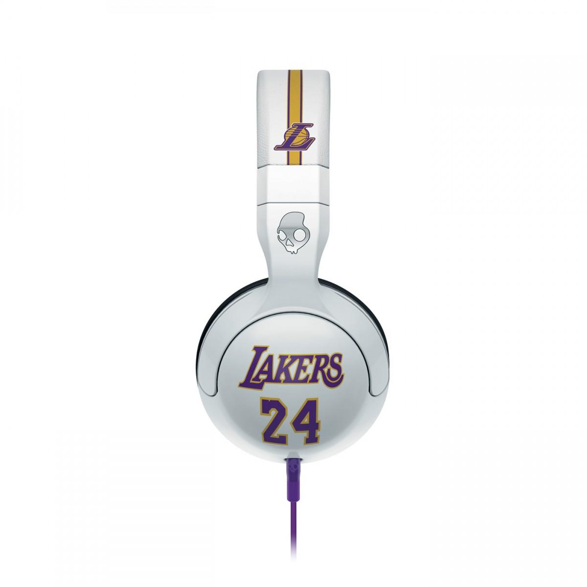 Fone de Ouvido com Microfone Hesh 2 Los Angeles Lakers S6HSDY-226 - Skullcandy