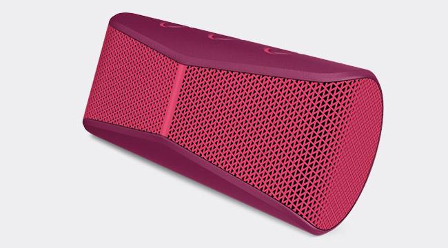 Caixa de Som X300 Vermelho 984-000406 Sem Fio - Logitech