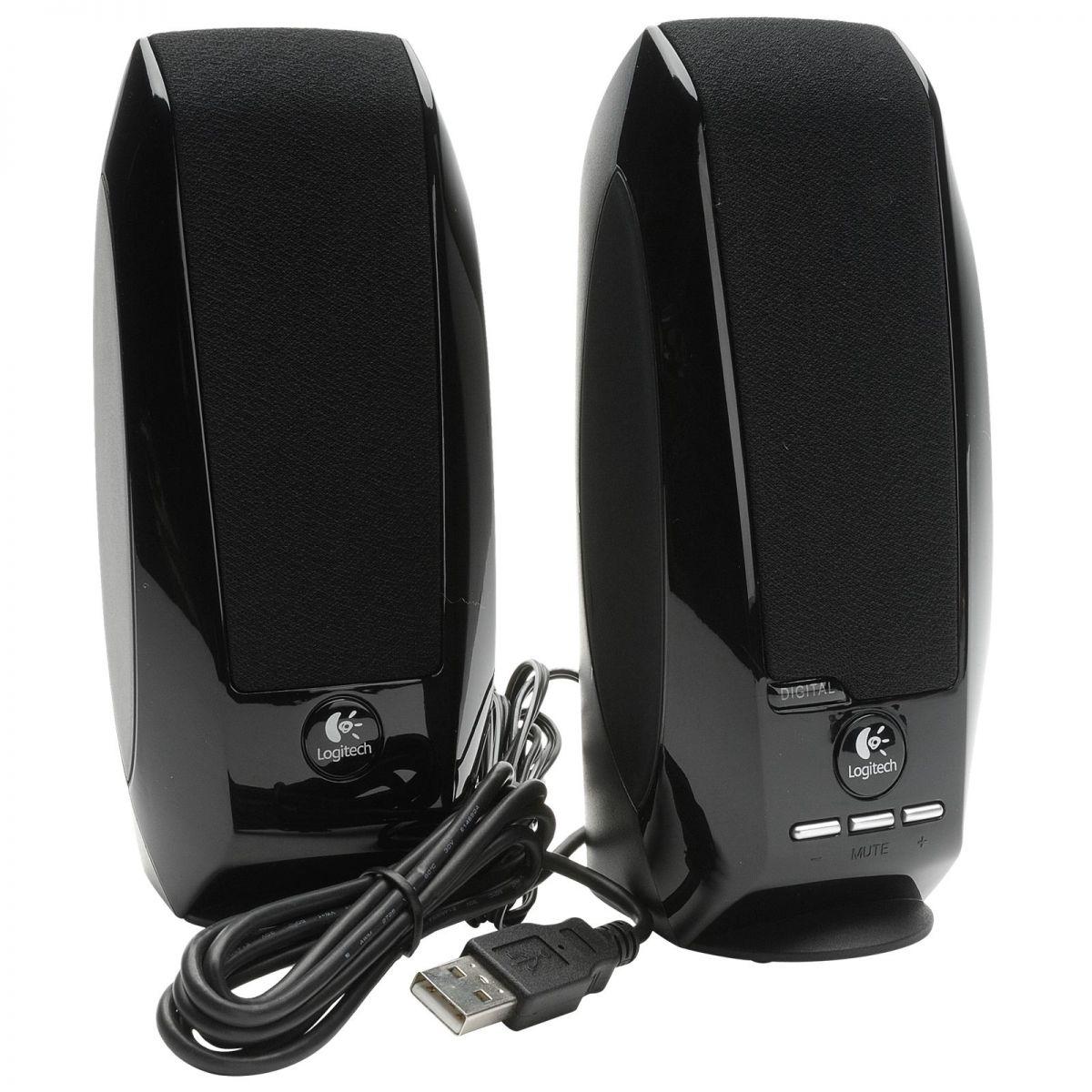 Caixa de Som S150 Digital USB - Logitech