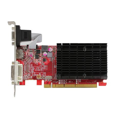 Placa de Vídeo R5 230 1GB DDR3 64Bits AXR5 230 1GBK3-HE - PowerColor