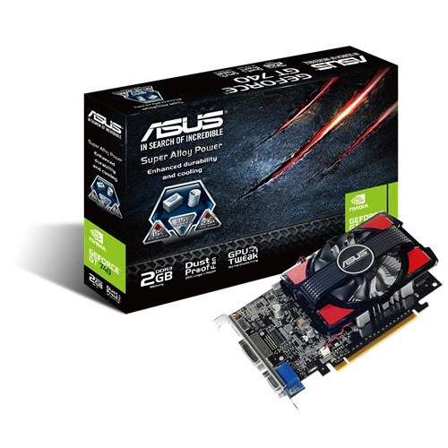 Placa de Vídeo Geforce GT740 2GB DDR3 128Bits GT740-2GD3 - Asus