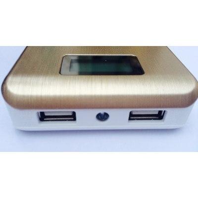 Bateria Externa Power Bank PN-929 15000 mAh Dourado - Pineng