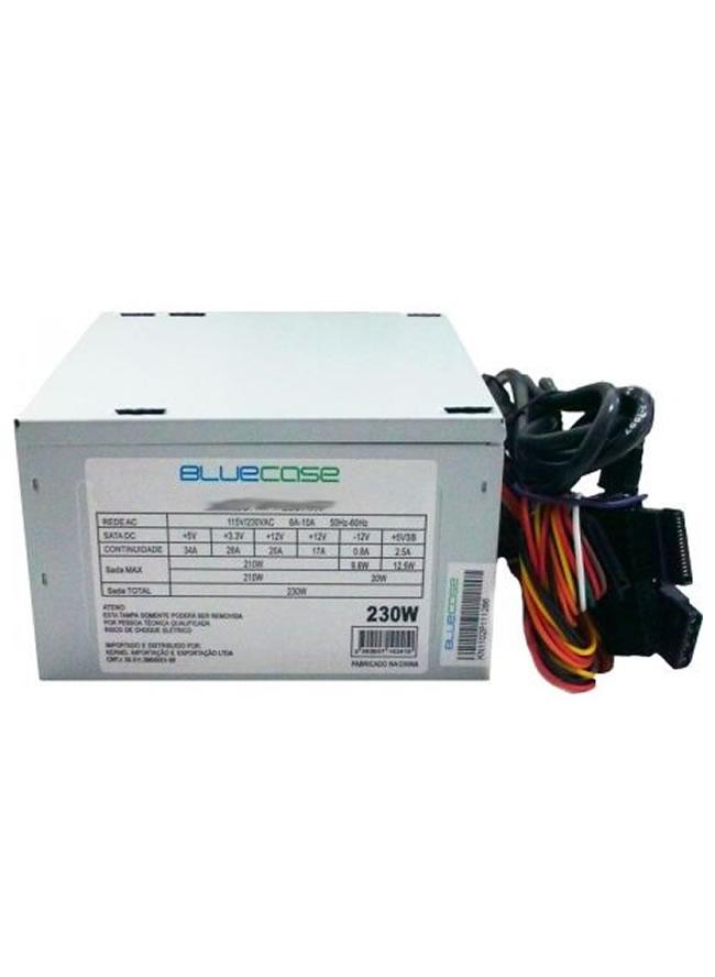 Fonte ATX 230W BLU230 Bivolt Manual - Bluecase