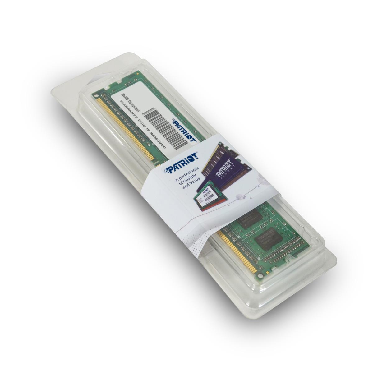 Memória Signature 4GB DDR3 1333Mhz PSD34G133381 - Patriot