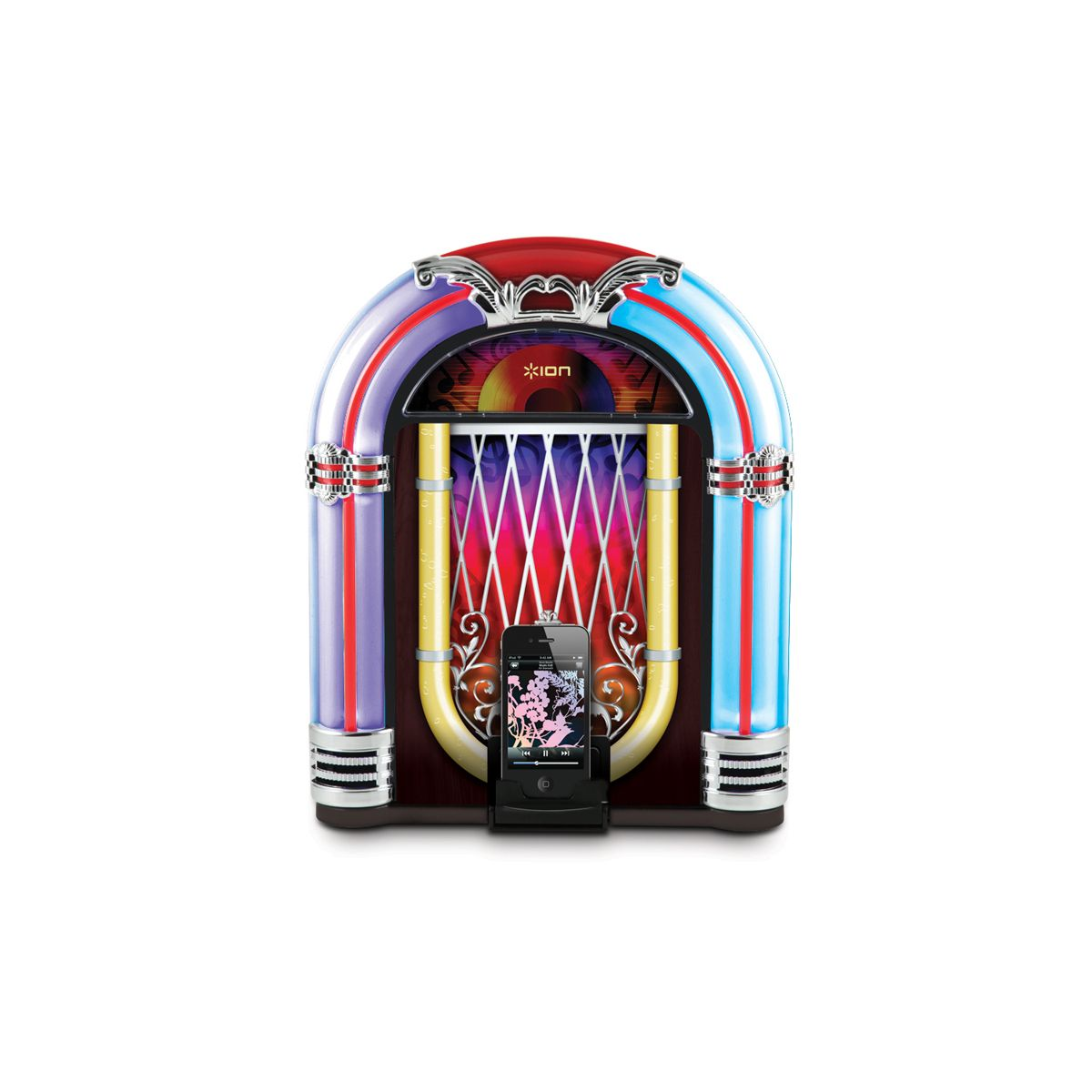 Jukebox para Ipad, Iphone e Ipod ISP18 - ION