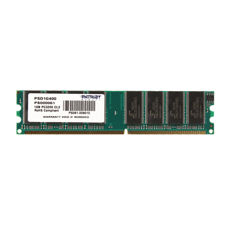 Memória 1GB 400MHz DDR PSD1G400 - Patriot